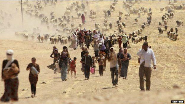 Minorias étnicas como os yazidis são alvo do 'Estado Islâmico'