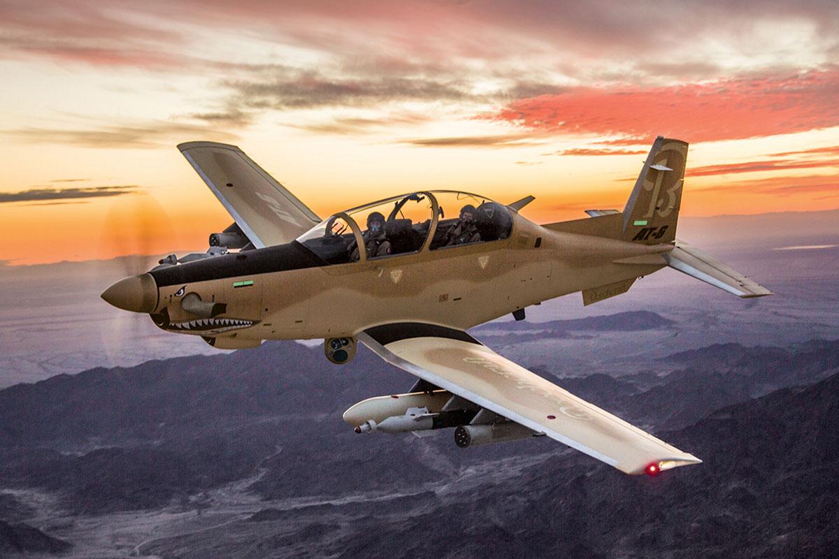 Beechcraft AT-6 'WOLVERINE'  PODE ESTREAR PELA FORÇA AÉREA DO IRAQUE