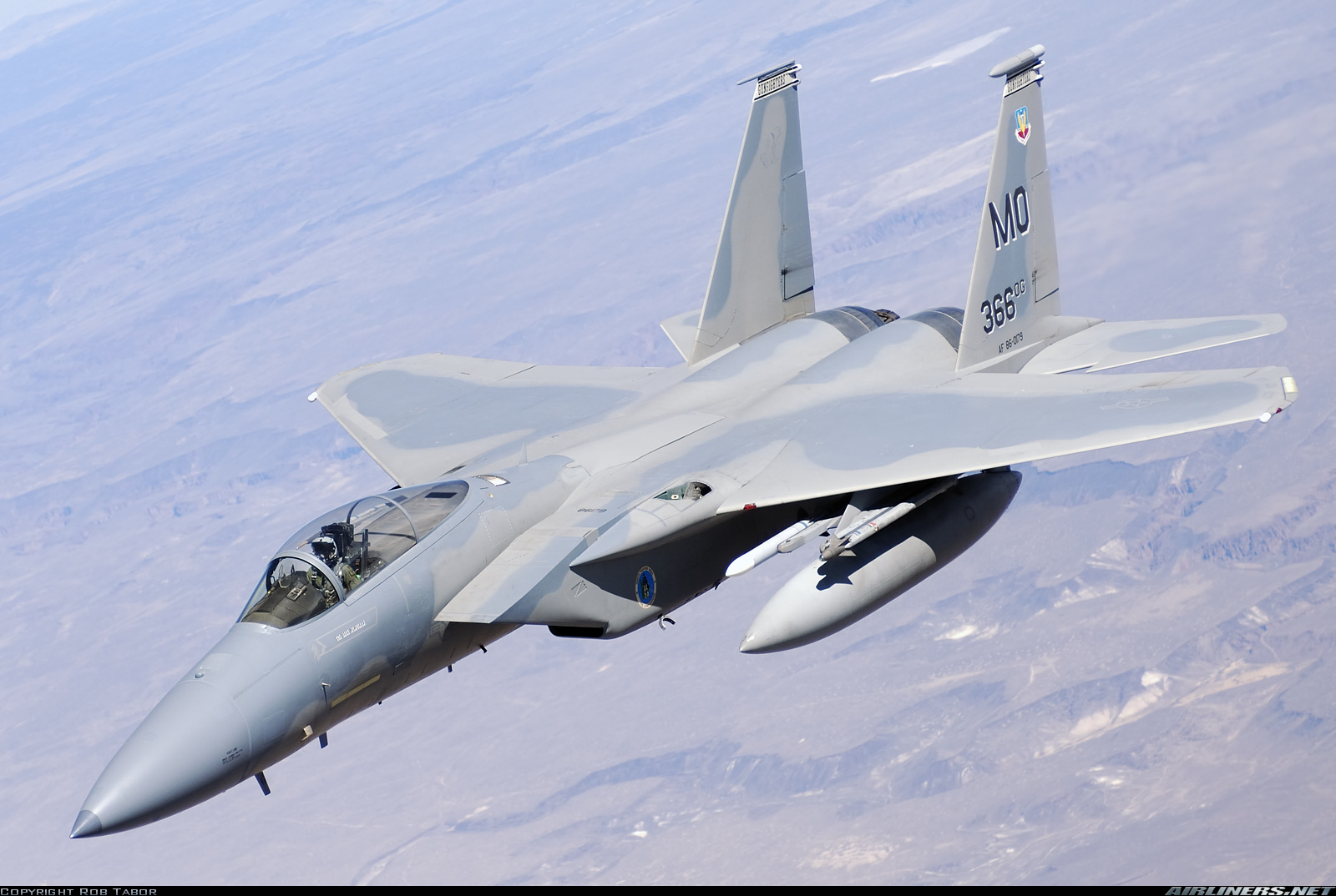 MCDONNELL DOUGLAS F-15C EAGLE. A destemida aguia da América