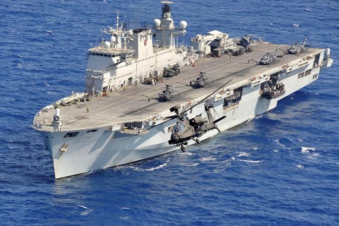 Video: HMS OCEAN (L12)