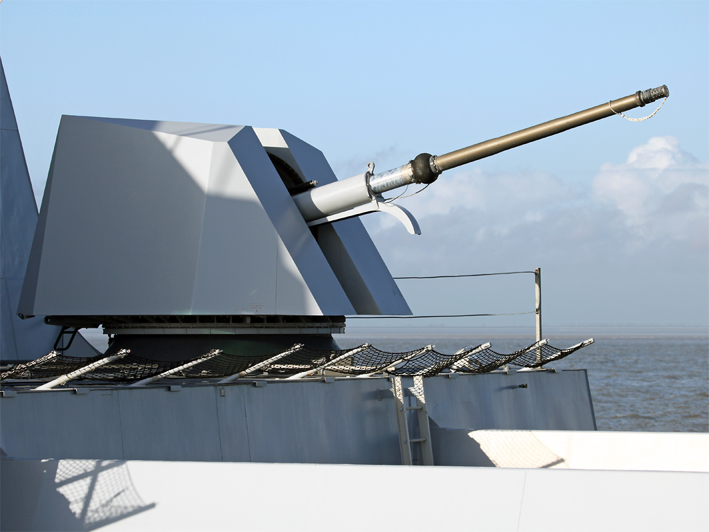 Marinha Colombiana adquire canhão Oto Melara  para equipar seu terceiro OPV-80