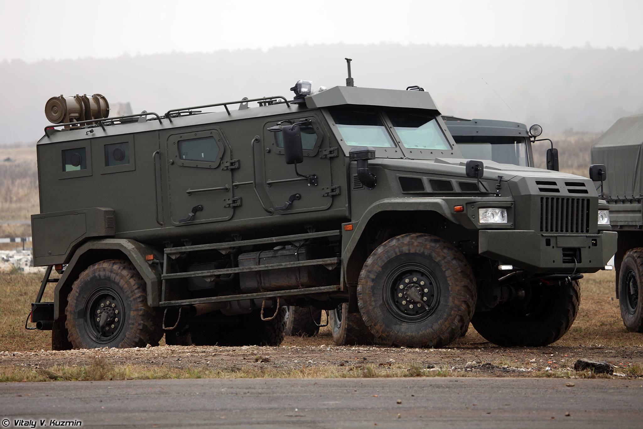 Patrol-A: O mais novo veículo blindado Russo