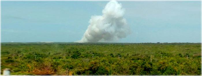 Fonte do PEB revela (em 'off'): rompimento da carcaça do motor em torno do ignitor pode ter causado explosão do VS-40 na rampa de lançamento