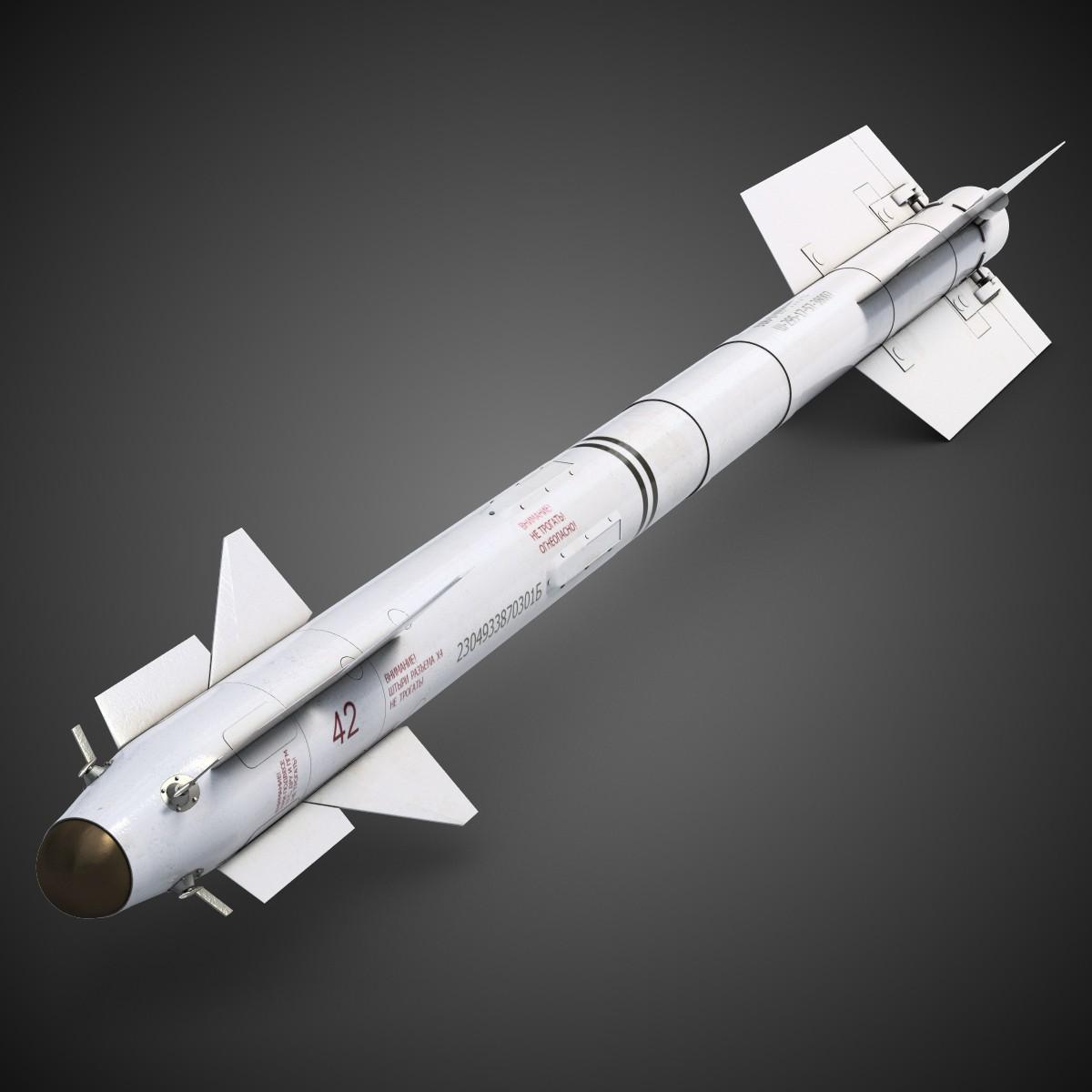 Acima: O míssil de curto alcance R-73 Archer e seus derivados modernizados são os principais misseis de curto alcance em uso no Su-35S.