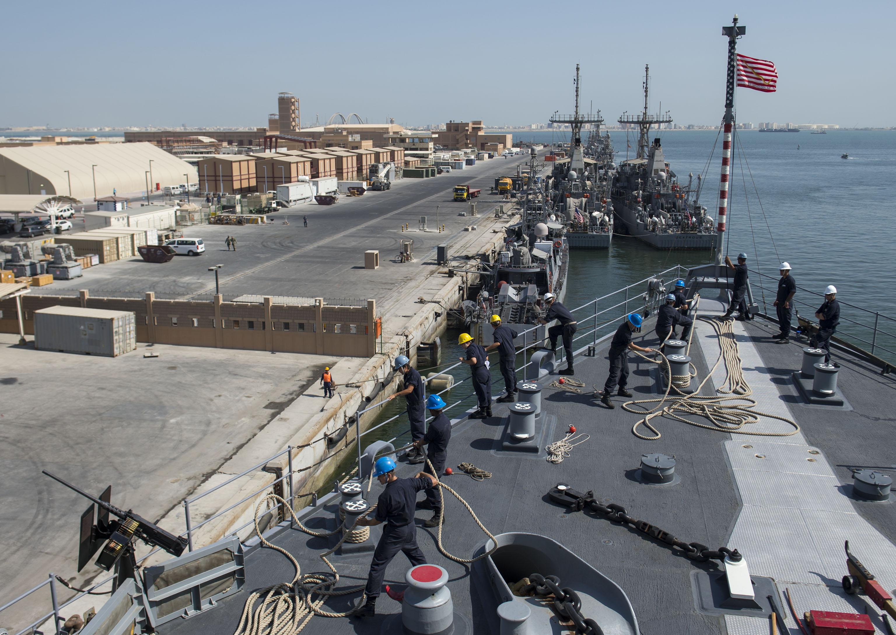 ESPECIAL MINA SALAM: Estados Unidos preparam nova ampliação da base da 5ª Frota no Bahrein