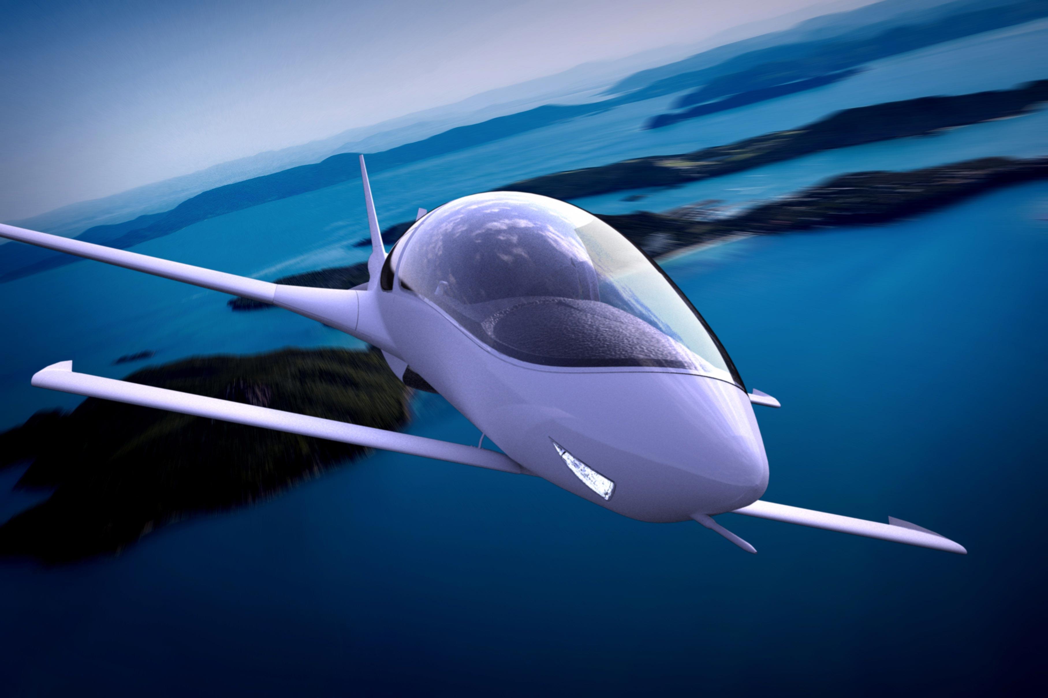 Tecnologia: monomotor de passeio com 'design' futurista e 'canopy' de avião de caça chega ao mercado por USD 750 mil