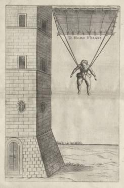 O primeiro verdadeiro salto de paraquedas