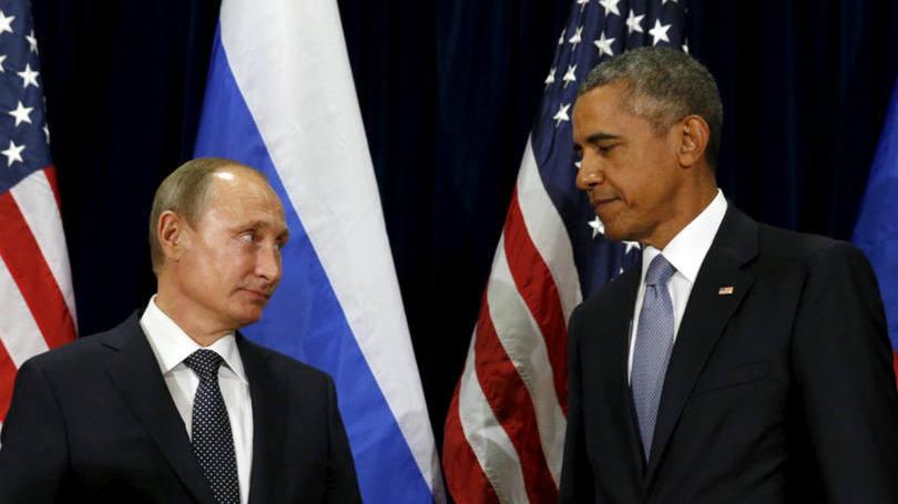 Vladimir Putin e Barack Obama: os dois líderes discordam sobre a melhor estratégia para eliminar o Estado Islâmico