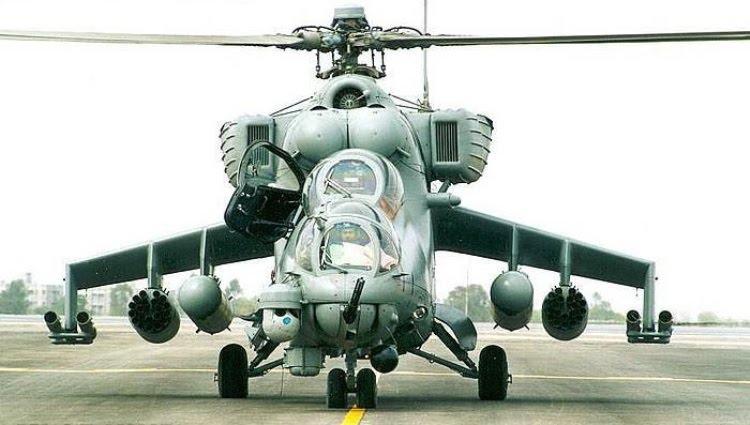 Índia entrega primeiras unidades do Mil Mi-25 doados ao Afeganistão