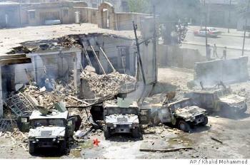 O dia dia no Iraque. Crédito da foto: AP/Muhammed Muheisen