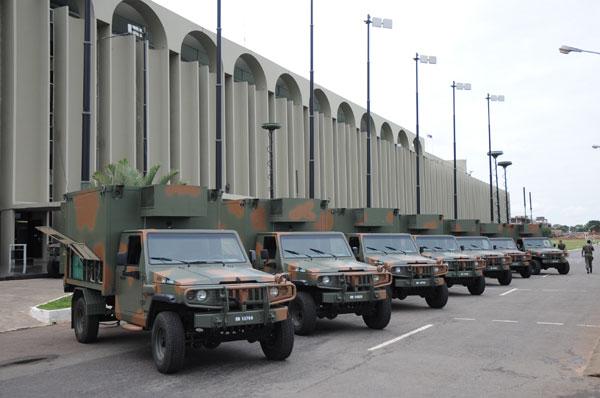 MTO em viatura Agrale Marruá sendo entregues ao Exército Brasileiro: Foto – Exército Brasileiro