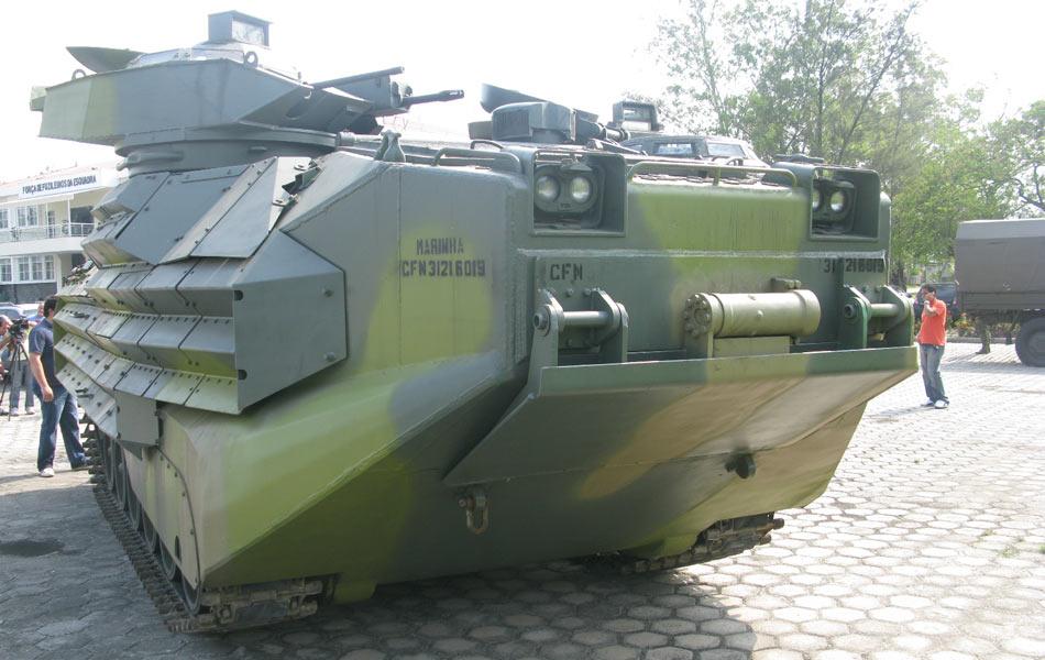 Marinha do Brasil compra 23 AAV7A1 RAM/RS
