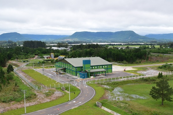 Esquadrão de veículos aéreos não-tripulados da FAB recebe novo hangar