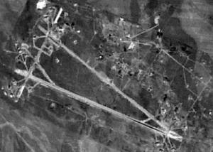Base aérea de Shaairat, ou Shayrat. Foto: internet.