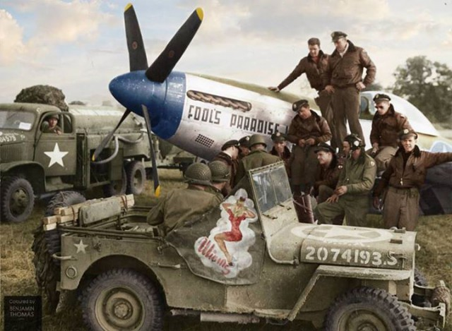 Imagens coloridas por computador dão vida à 2ª Guerra Mundial