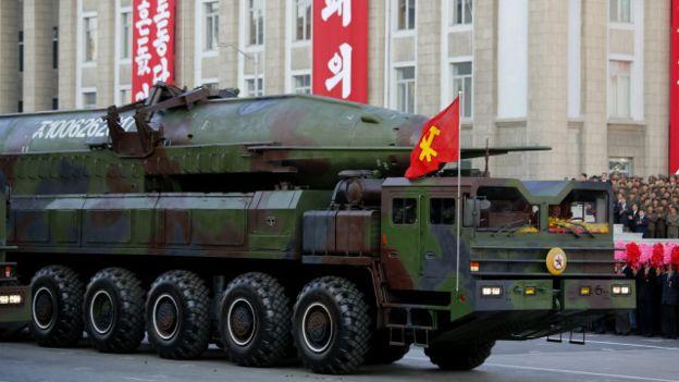 Coreia do Norte detém um significativo poderio militar