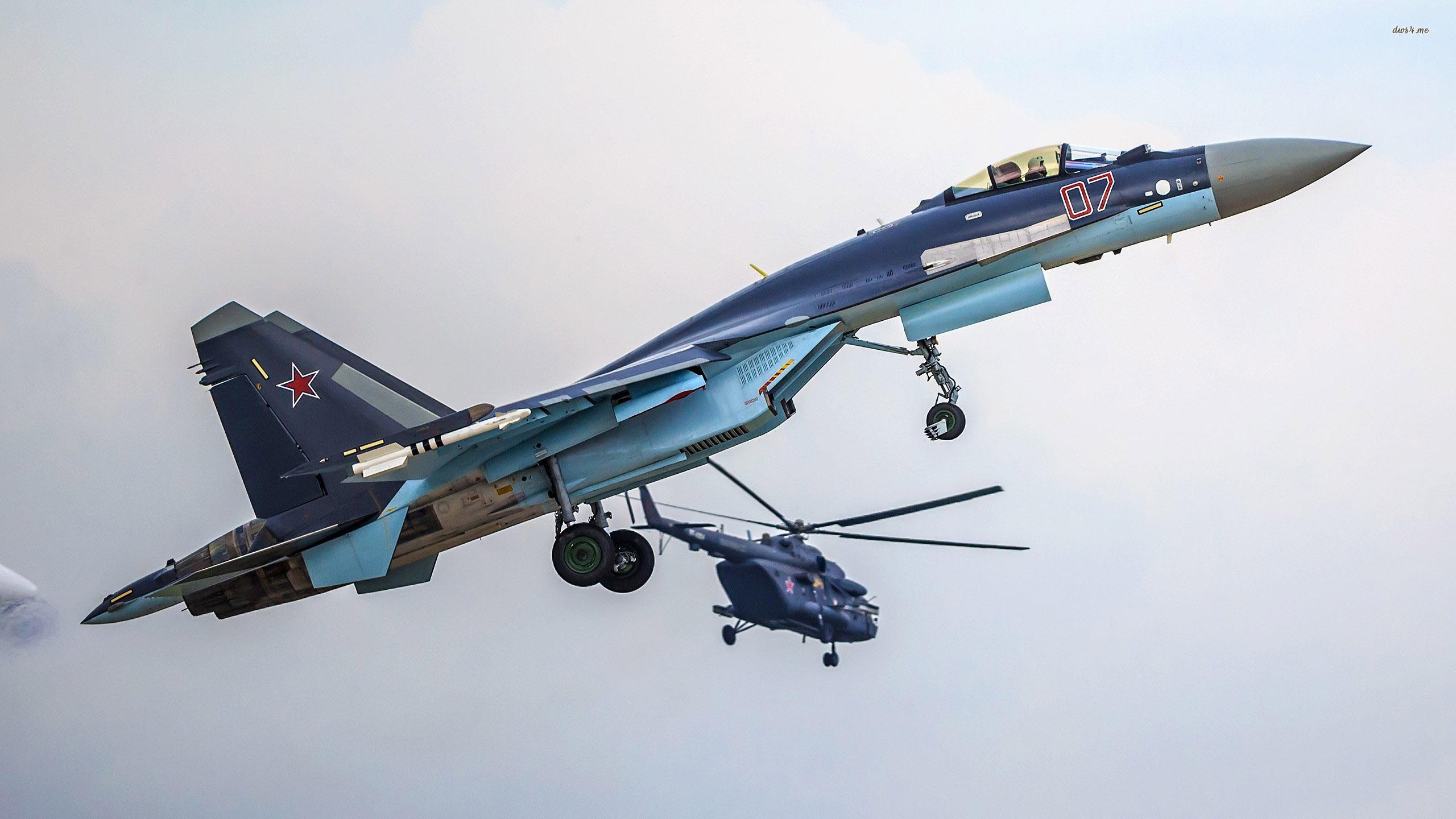 Indonésia assinará nos próximos meses o contrato para aquisição de aviões de combate Sukhoi Su-35
