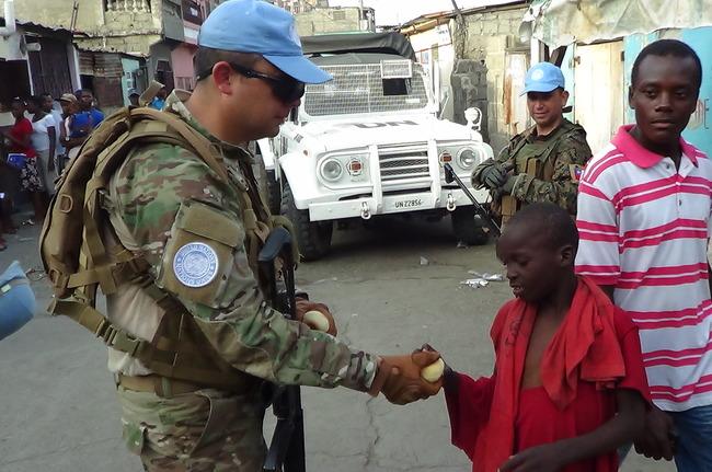 As Forças Armadas do Chile participam de várias missões da ONU pelo mundo e estão preparadas para trabalhar na República Centro-Africana este ano. [Foto: Departamento de Relações Públicas do Exército Chileno]