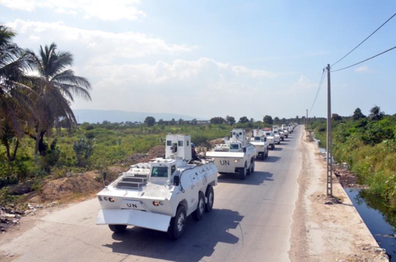 Brabat 23 realiza Operação Alligator para garantir segurança na Transição do novo governo no Haiti