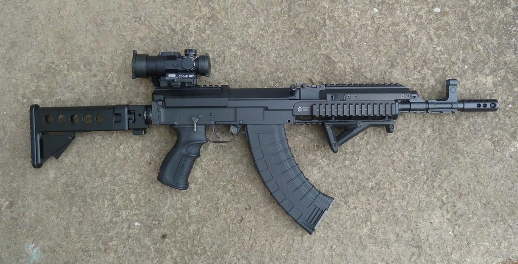 Republica Checa doa Fuzis de Assalto para o Iraque combater o Estado Islâmico.
