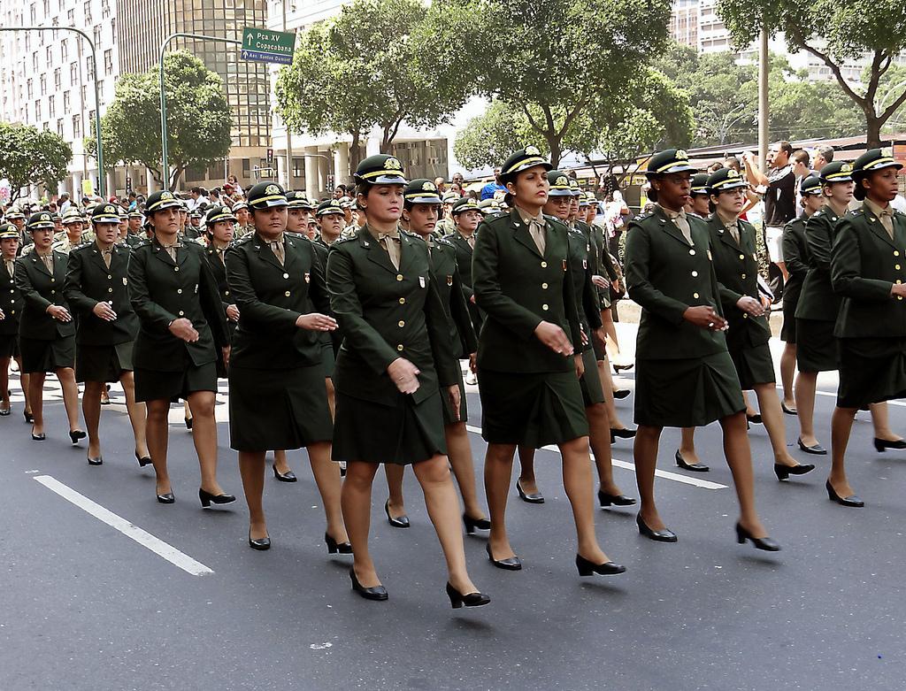 Comissão de Relações Exteriores e Defesa Nacional do Senado vota, dia 18, projeto que dá às mulheres o direito de prestar serviço militar