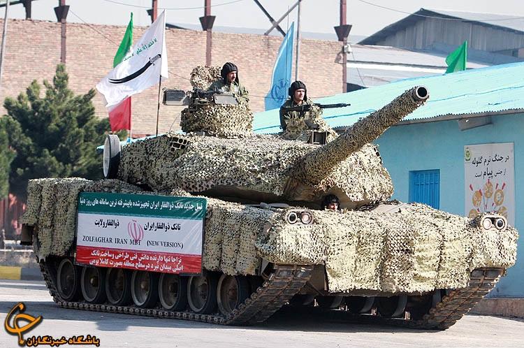 Indústria de defesa Iraniana tem tecnologia para produzir Carros de combate semelhantes aoT-90