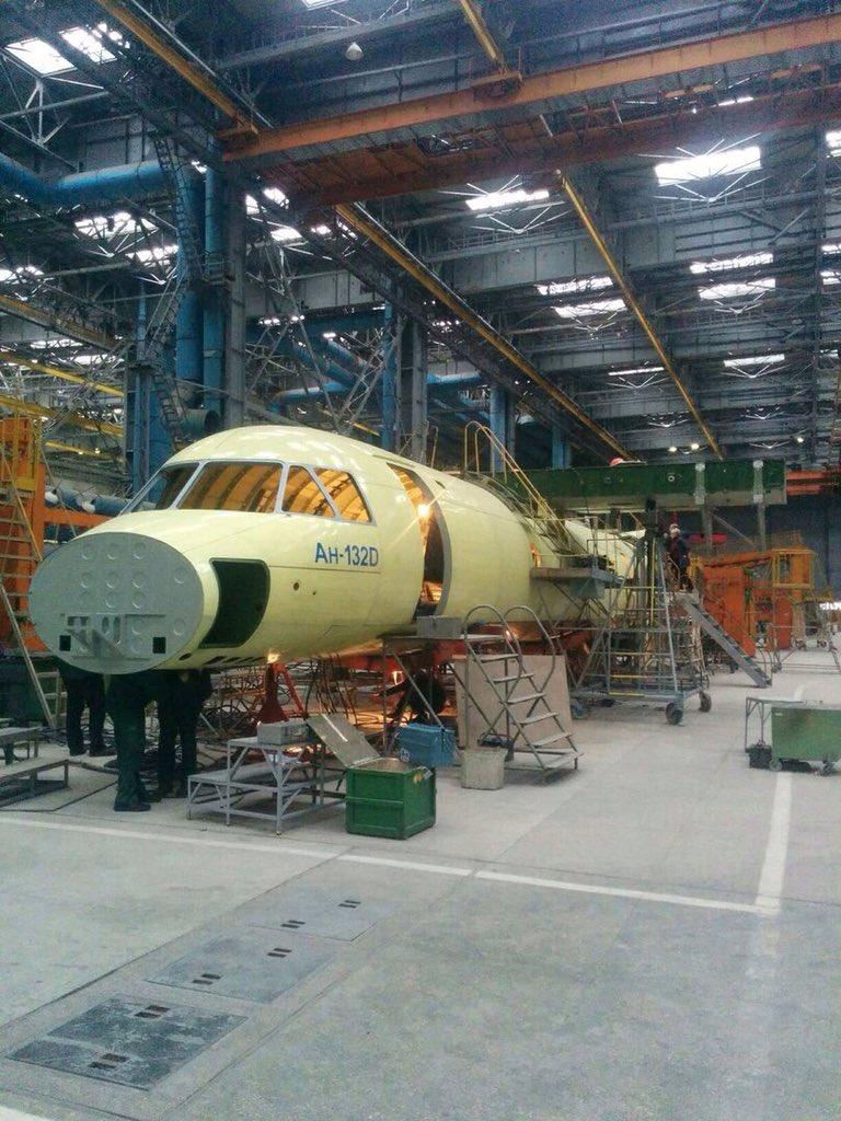 An-132D deve efetuar o primeiro voo antes do fim de 2016