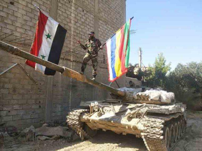 Campo de batalha na Síria, relatório, 26.02.2016