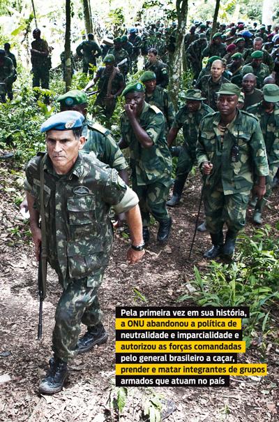 Um brasileiro no coração das trevas : A dura missão do general Carlos Alberto dos Santos Cruz, comandante da mais importante operação da ONU no mundo.
