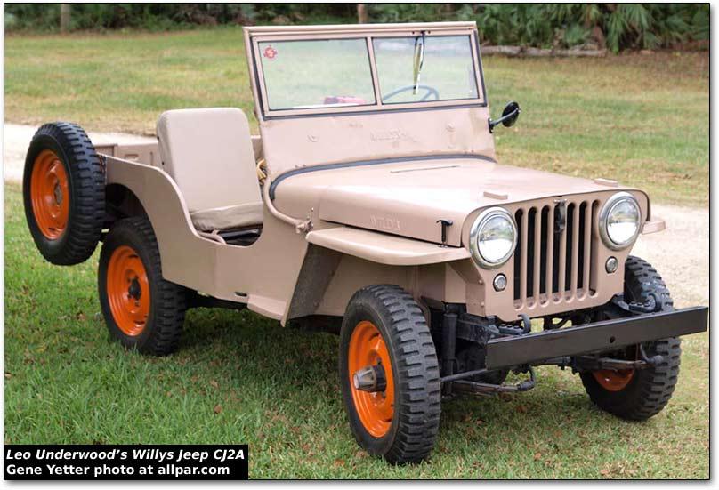 Willys Jeep Cj 2a