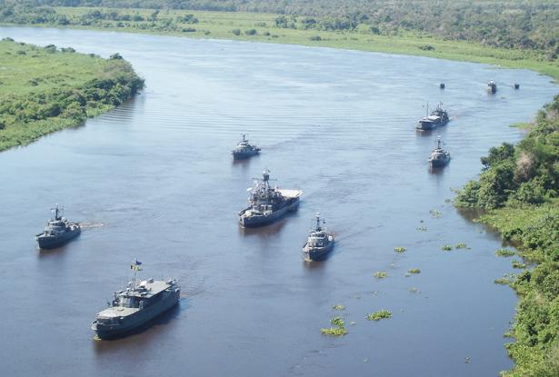 """Marinha do Brasil realiza """"Operação Celeiro"""" no Estado de Mato Grosso"""