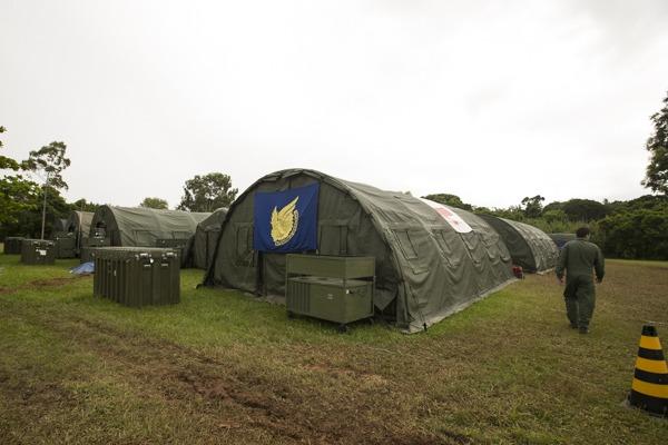 Intendência Operacional e 1° GCC apoiam o exercício Carranca V em Florianópolis/SC