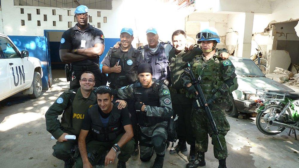 Operação Especial Anjo, Cidade de Deus, Porto Príncipe.