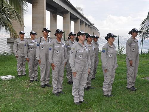 Estágio de Qualificação de Segurança Orgânica forma primeira turma feminina