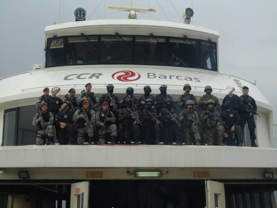 RIO 2016: SEALs e BOPE fazem treinamento especial na CCR Barcas