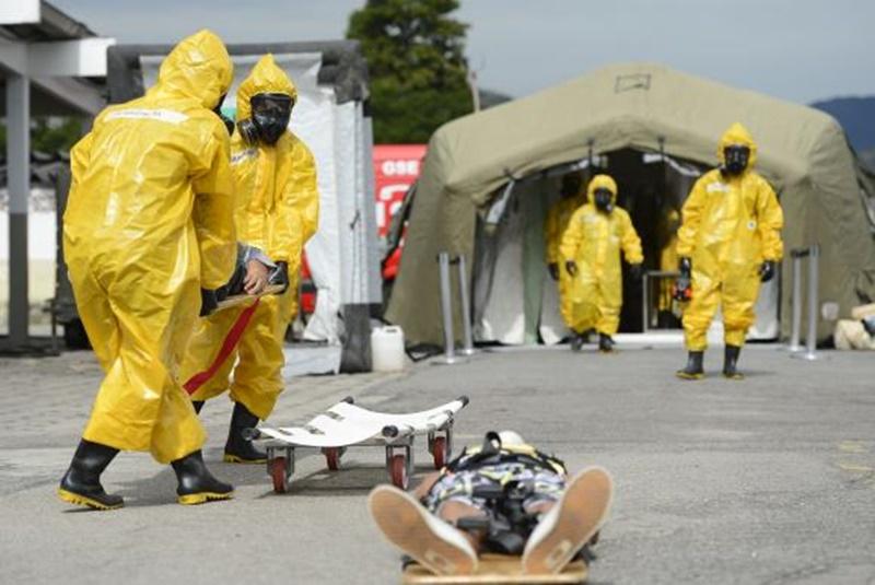 RIO 2016: Base Aerea dos Afonsos realiza simulado para controle de incidentes químicos durante Jogos Olímpicos