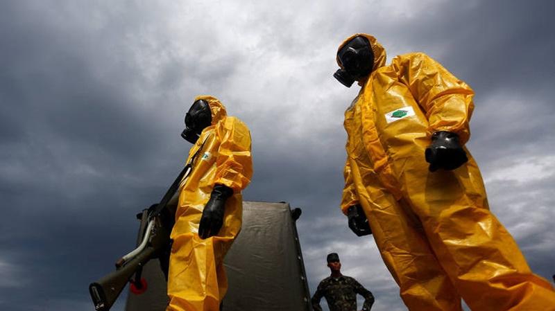 Defesa faz simulado para controle de incidentes químicos durante Jogos Olímpicos2