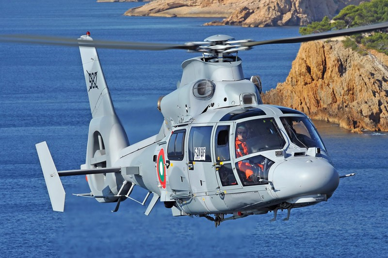 Marinha Mexicana adquire AS565 MBe Panther da Airbus helicopters.