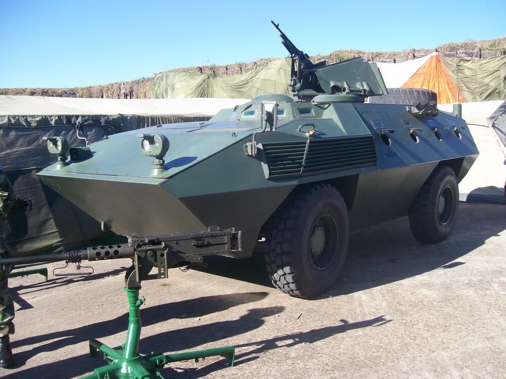 Fiat Oto Melara 6614 pertencente a Força Aerea Argentina.