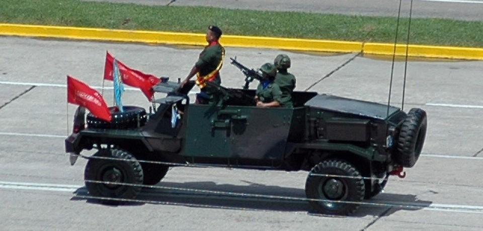 A Força Aerea Venezuelana (atual Aviación Militar Bolivariana) emprega veiculos blindados 4x4 IMI RAM MK3 de fabricação israelense.
