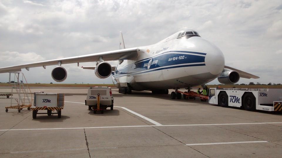 Rapidinhas Plano Brasil: O gigante Antonov pousa em Viracopos