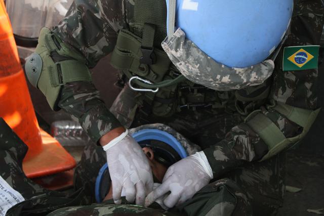 CCOPAB certifica grupos de combate e pelotões do BRABAT 24