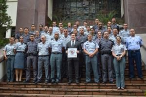 FAB PÉ DE POEIRA: Militares da Infantaria se formam em curso da PMESP.