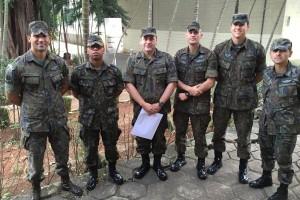 FAB PÉ DE POEIRA:  Infantaria Participa de Curso de Tiro Defensivo na PMESP