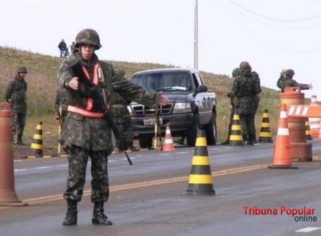 Operação Muralha recebe reforço do Exército a partir desta segunda-feira