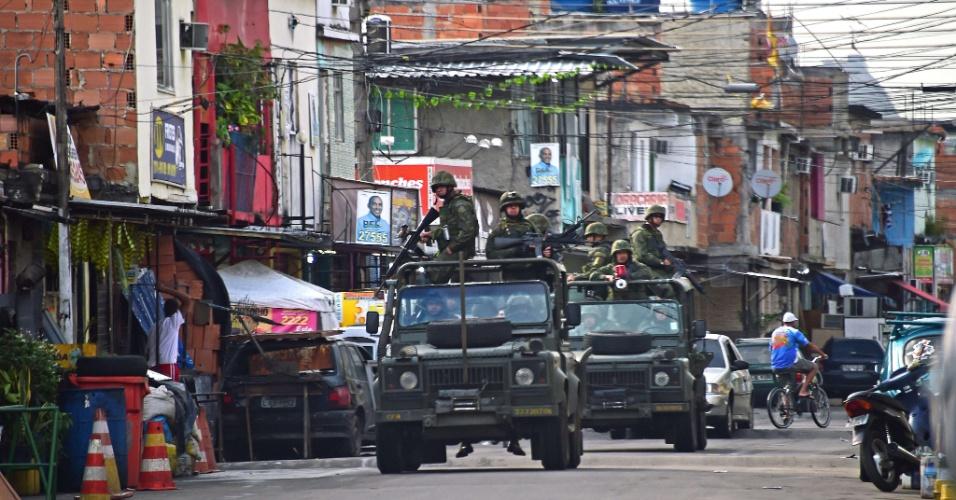 Forças Armadas devem ocupar seis favelas durante a Olimpíada do Rio, em agosto.