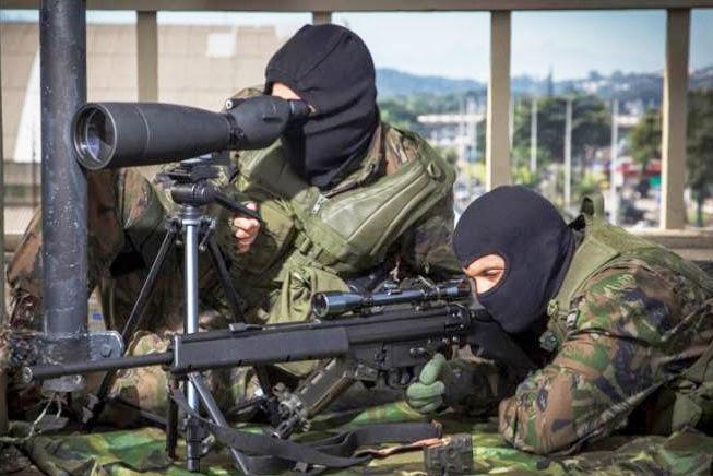 FAB PÉ DE POEIRA: BINFAE-CO forma novos  atiradores de precisão.