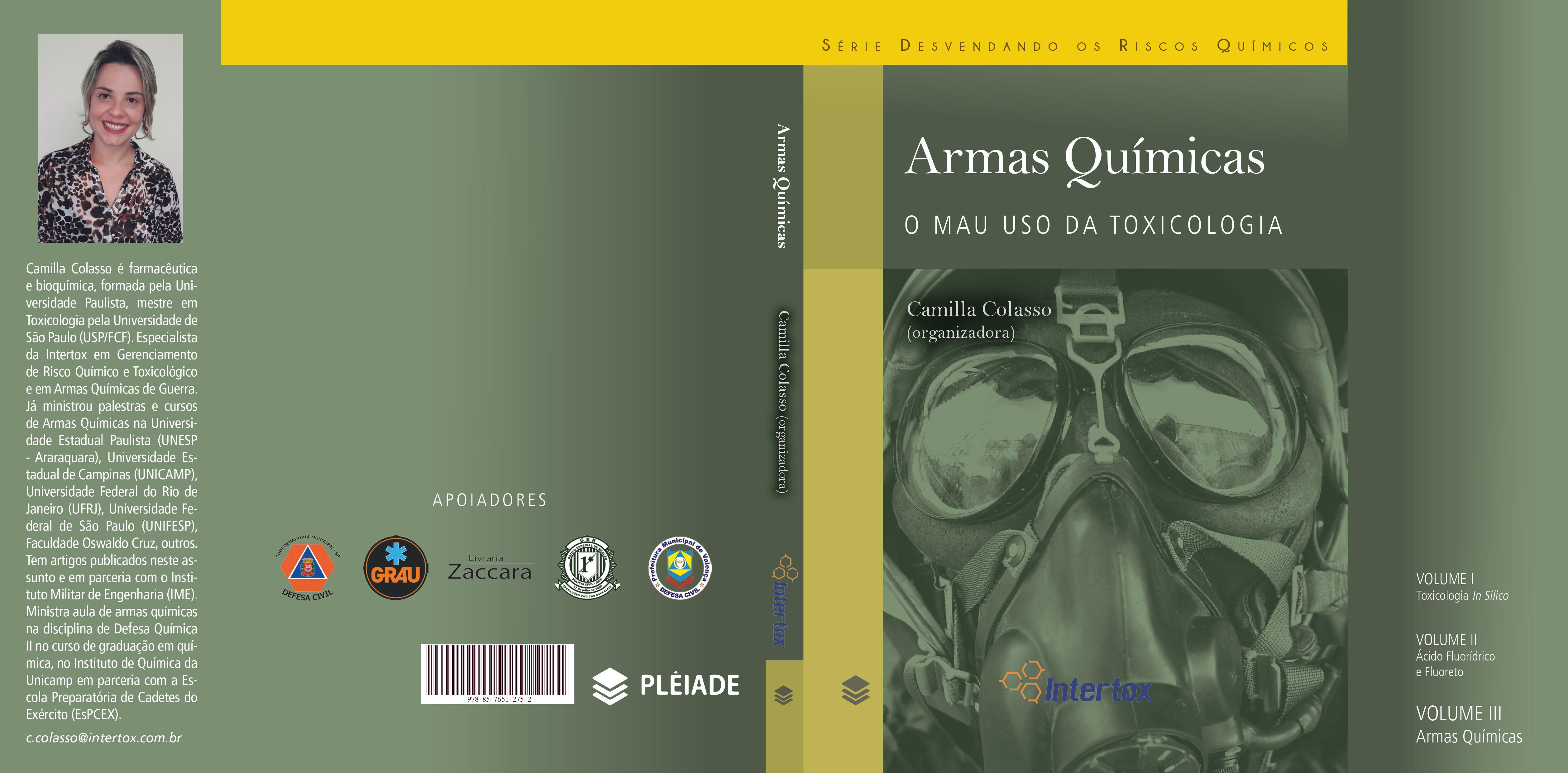 Sugestão de Leitura: Armas químicas: o mau uso da toxicologia