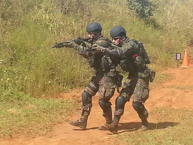 Treinamento Conjunto de Operações Especiais: 2º dia (10/05)