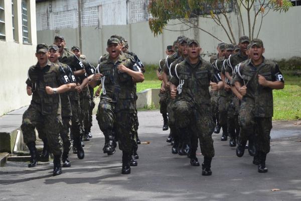 FAB PÉ DE POEIRA: BINFAE-BE forma novos policiais da aeronautica